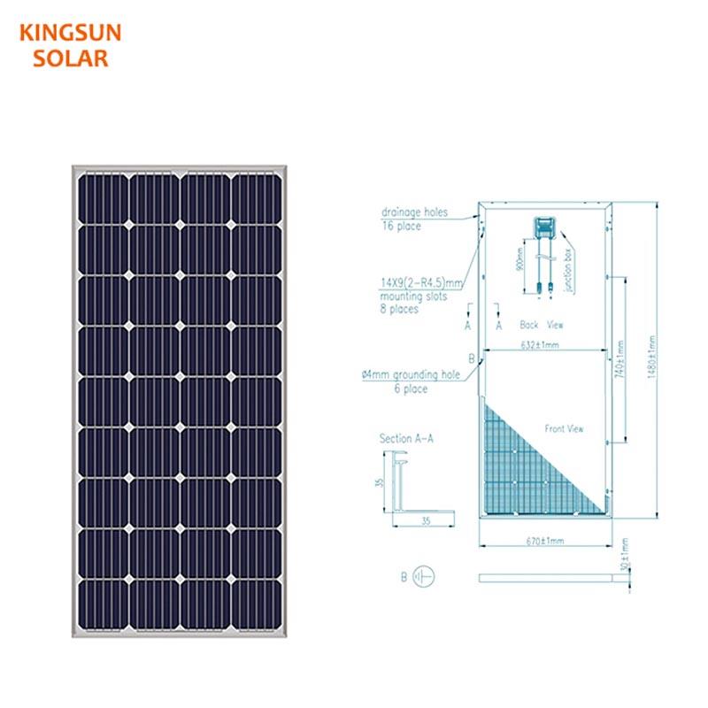 Best mono solar panels factory for Power generation-2