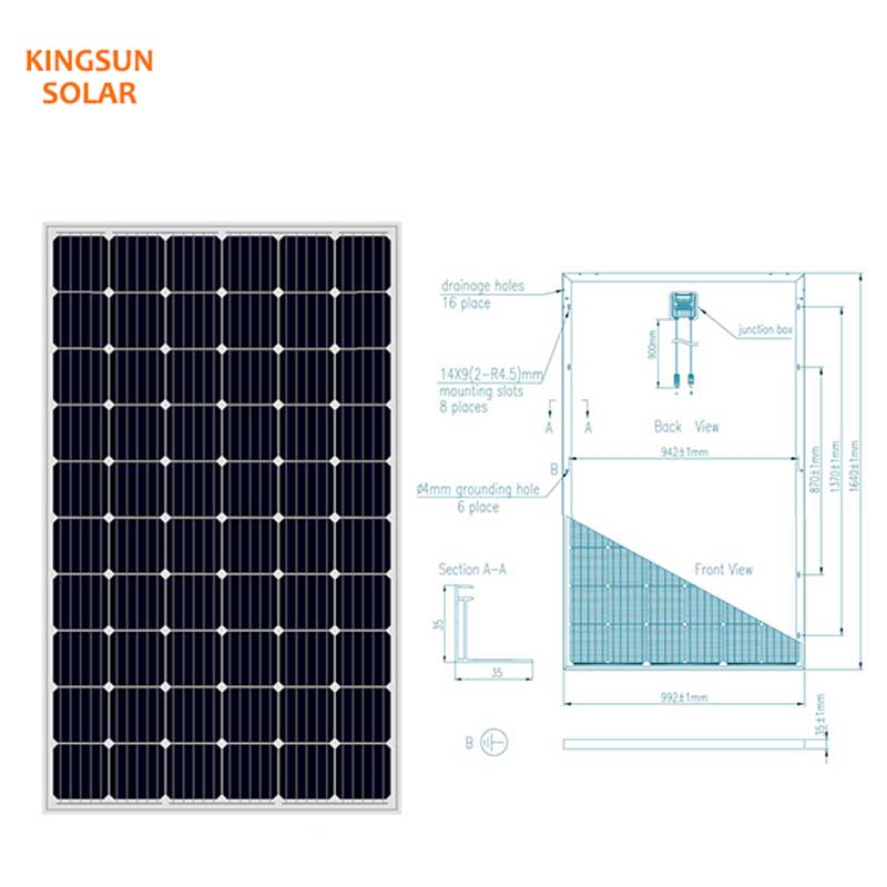 Best mono silicon solar panels factory for Environmental protection-1