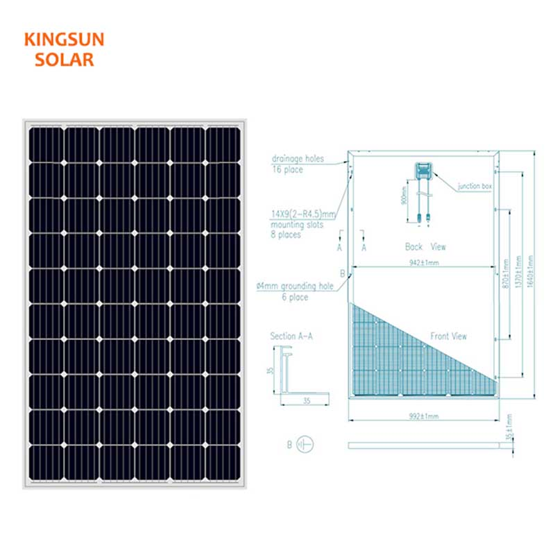 KSUNSOLAR commercial solar panels Suppliers for Power generation-1