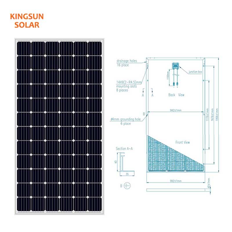 Latest solar energy solar panels Supply for Energy saving-2