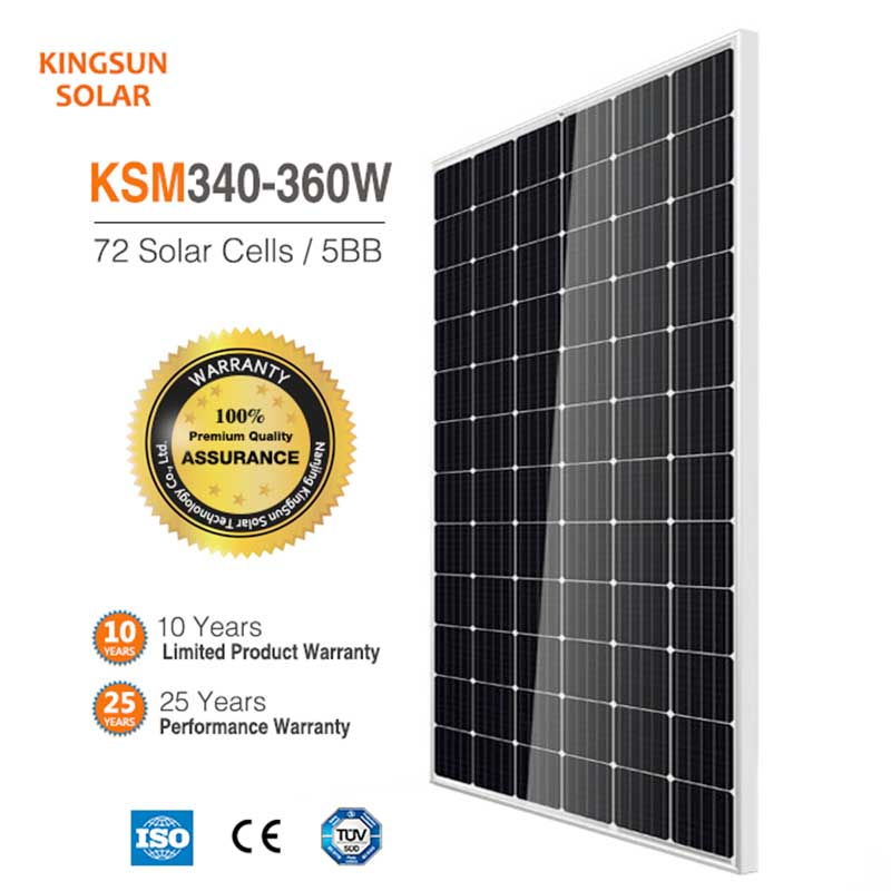 Latest monocrystalline silicon solar panels price manufacturers for Power generation-2