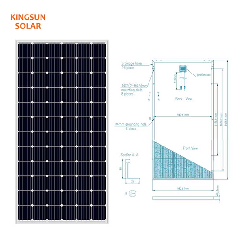 KSUNSOLAR Custom solar power module manufacturers for powered by-1