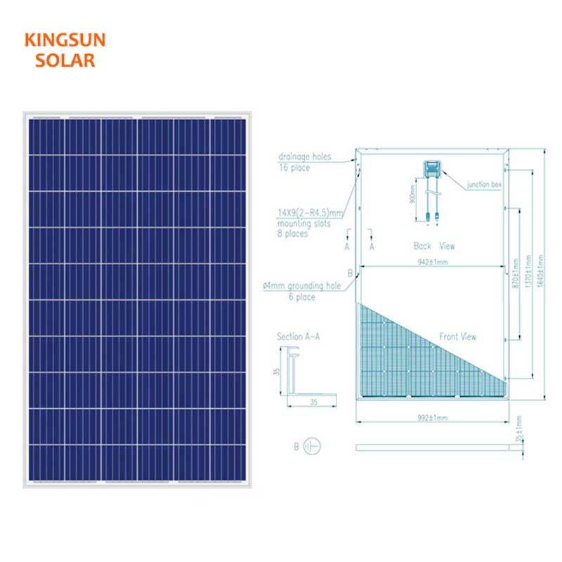 New polycrystalline solar panels cost company for Environmental protection-2