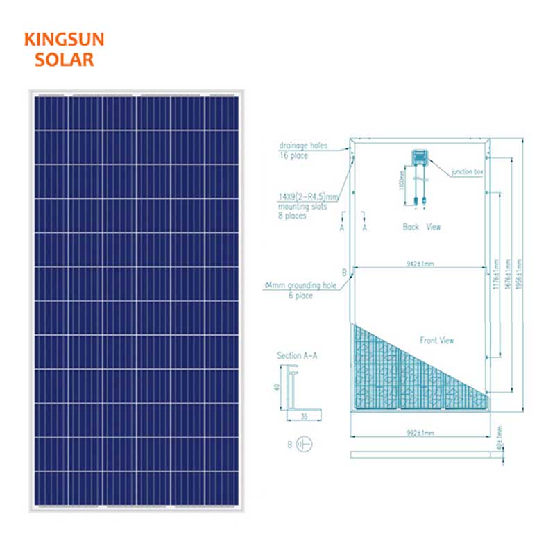 KSUNSOLAR New multi-solar panel factory for Power generation-2