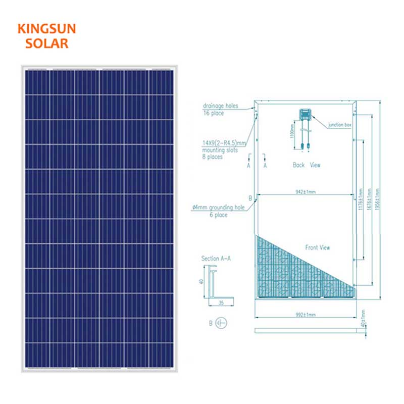 Best polycrystalline silicon solar panels manufacturers for Energy saving-2