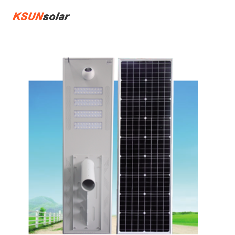Intergrated Solar street light Solar AIO Street Light