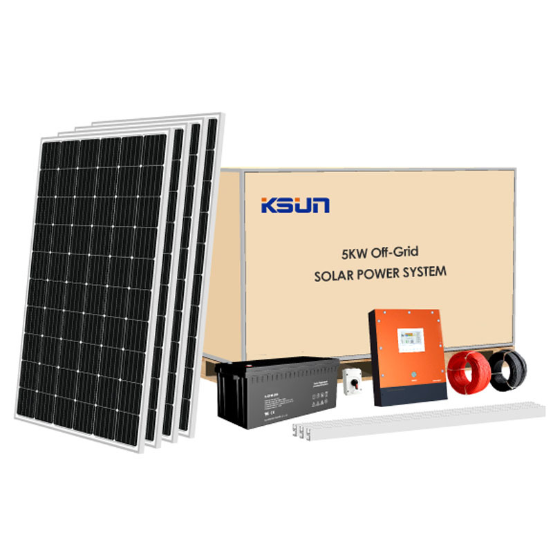 5KW On-grid Solar Power System