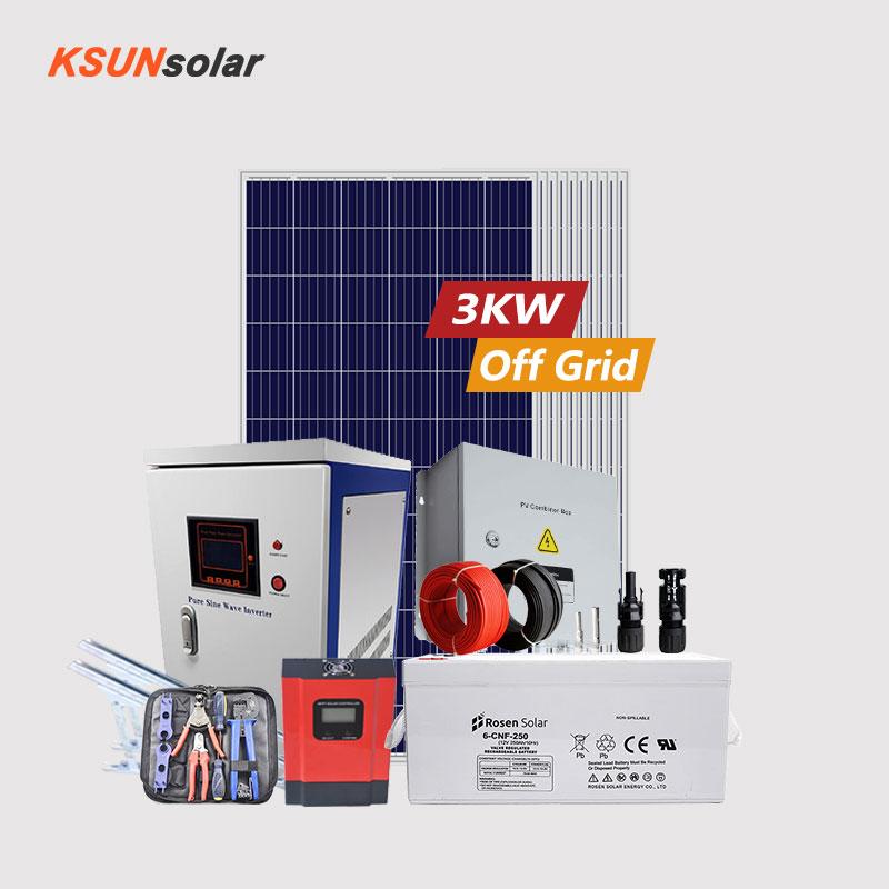 KSUNSOLAR best off grid solar system manufacturers for Environmental protection-1