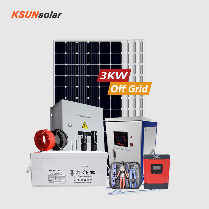 3KW Off-grid Solar Power System solar panel