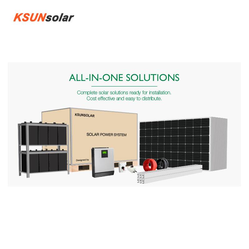 KSUNSOLAR best off grid solar system manufacturers for Environmental protection-2