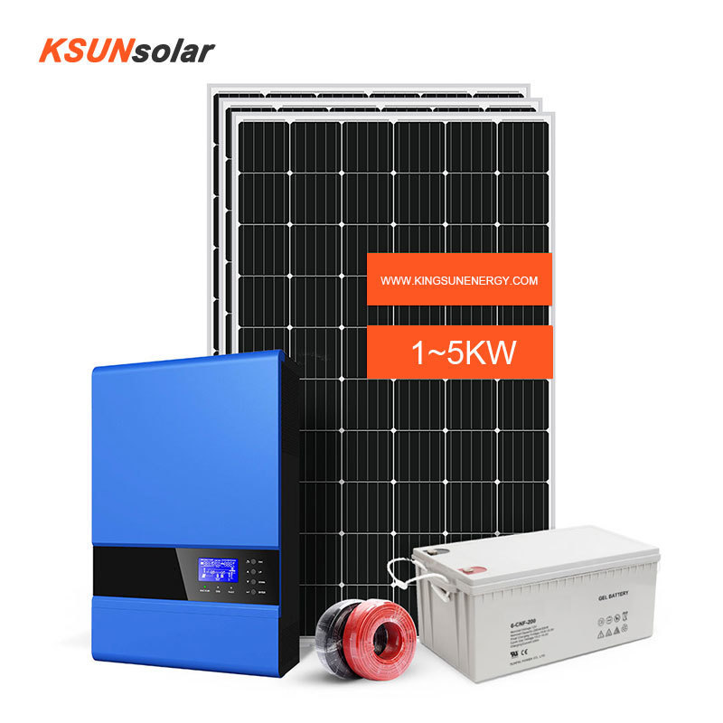 5KW off grid systems Off-Grid Solar Power System KIt
