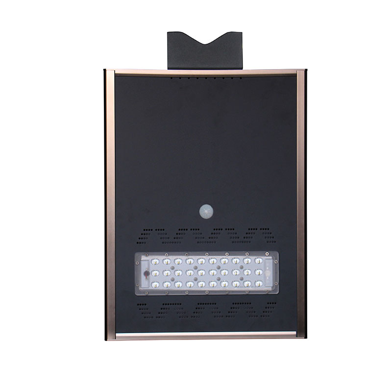 20W KSUNsolar Integrated LED Street Light Solar AIO Street Light