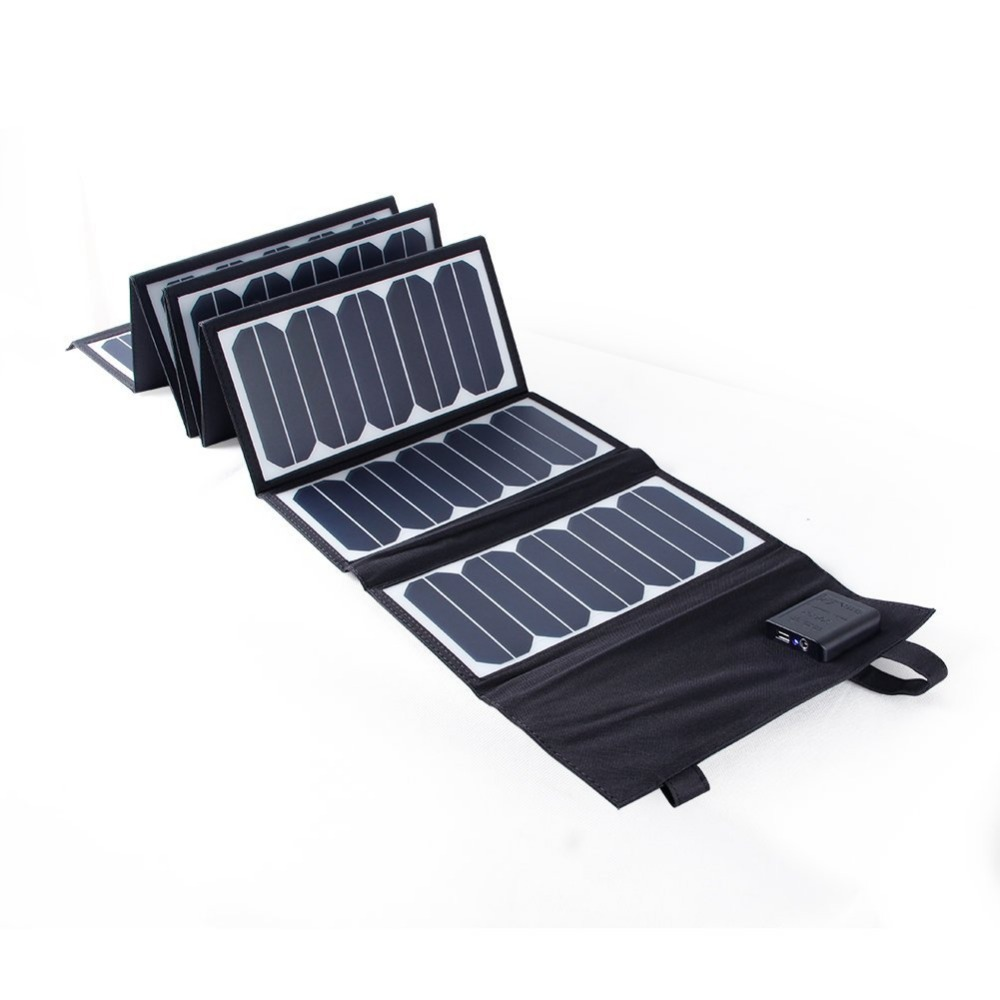 KSUNSOLAR portable foldable solar panels company For photovoltaic power generation