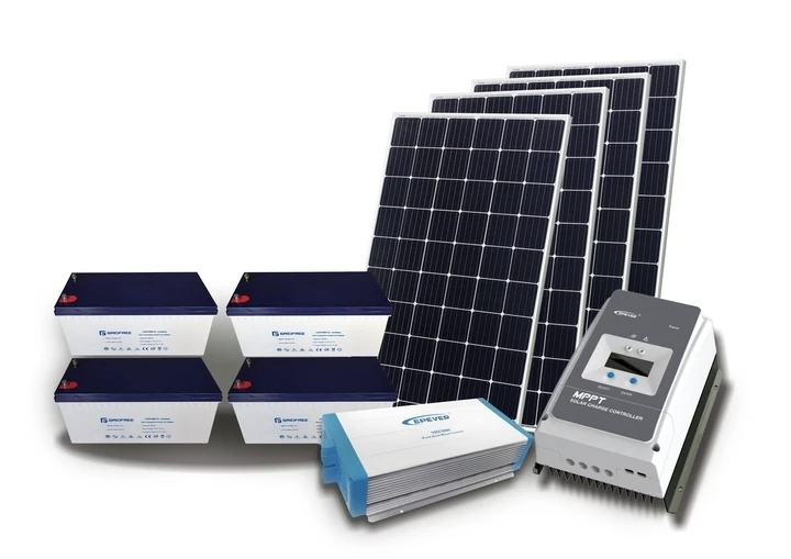 5KW Hybrid Solar Power System - 9.6KW LITHIUM BATTERY, 3.2KW SOLAR PANELS