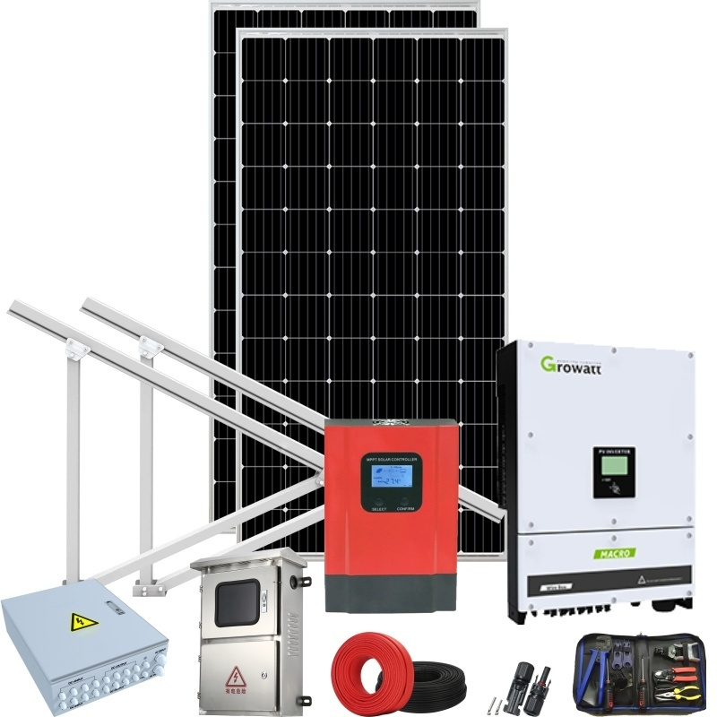 5kW Grid-Tied Solar Power System solar products