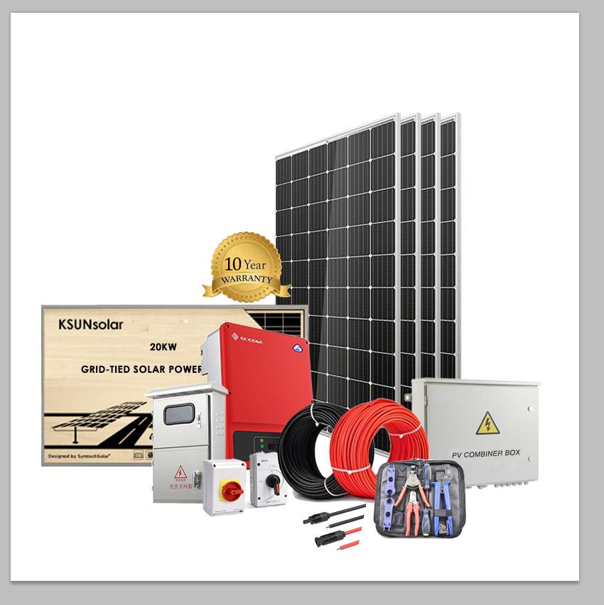 6.16kW Grid-Tied Solar Power with Growatt Inverter