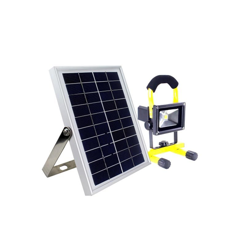 Portable 10V 5W Solar Panel Integrated LED Solar Emergency Light