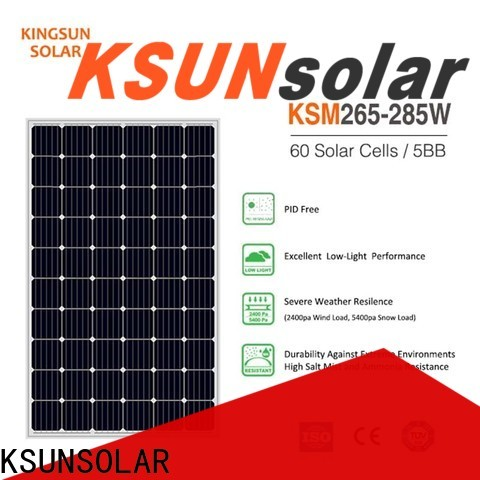 KSUNSOLAR solar power solar panels Suppliers For photovoltaic power generation