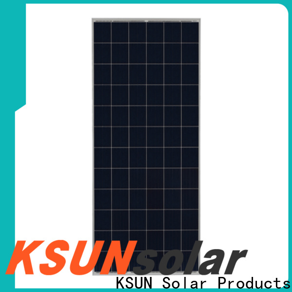 KSUNSOLAR Custom polycrystalline silicon solar panels for business For photovoltaic power generation