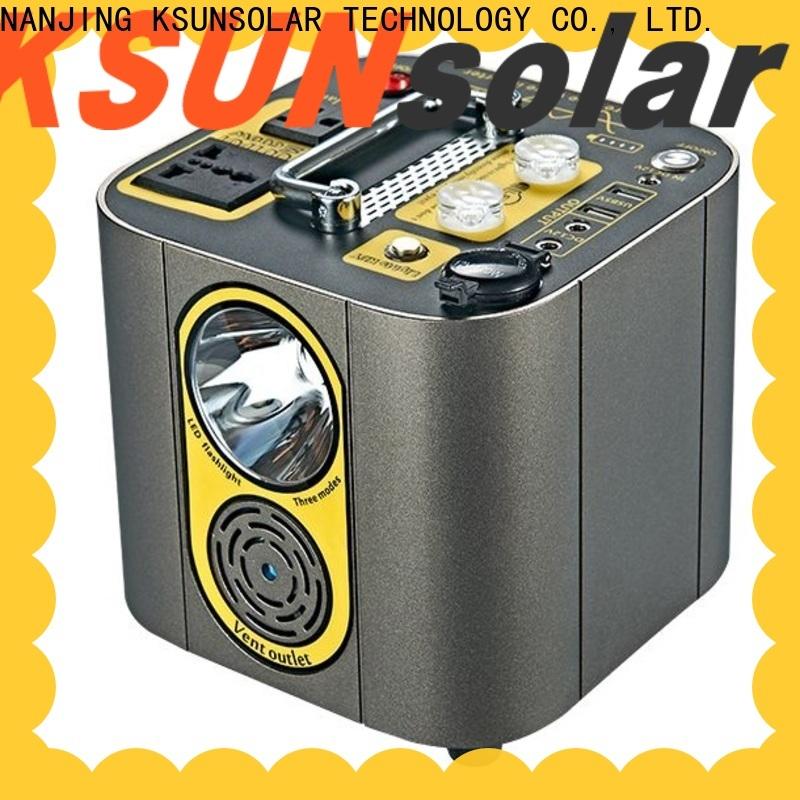 KSUNSOLAR Custom portable power station price Suppliers for Energy saving