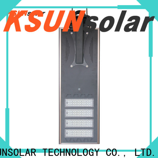 Best solar powered street lights company for Environmental protection