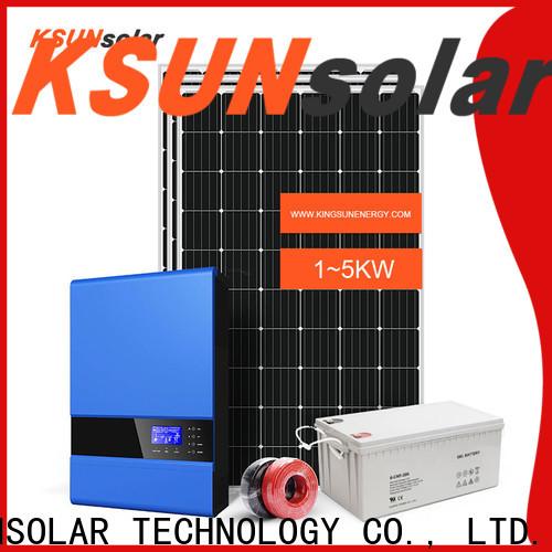 KSUNSOLAR Latest off grid power systems factory for Energy saving