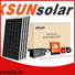 Top solar module for powered by