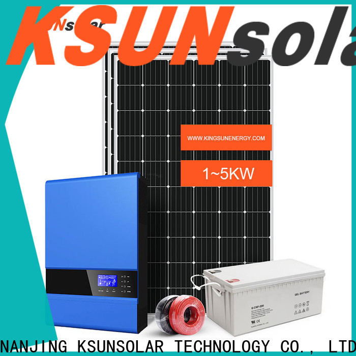 KSUNSOLAR New solar panels for off grid home manufacturers for Power generation