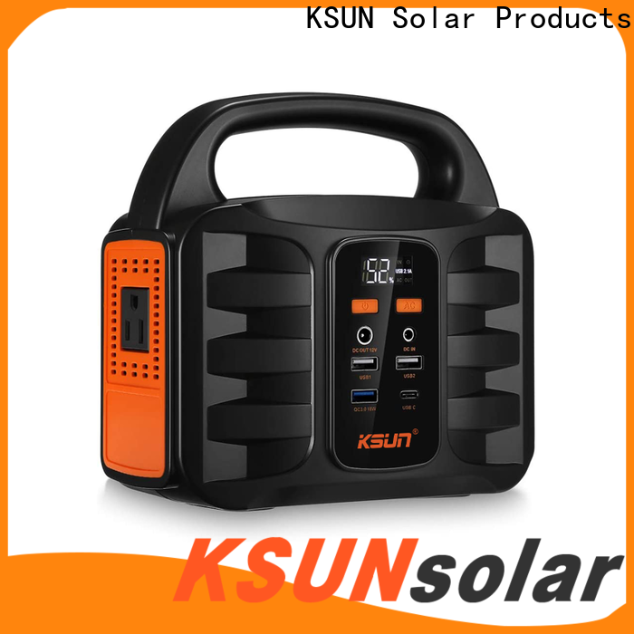 KSUNSOLAR portable power supply manufacturers for Energy saving