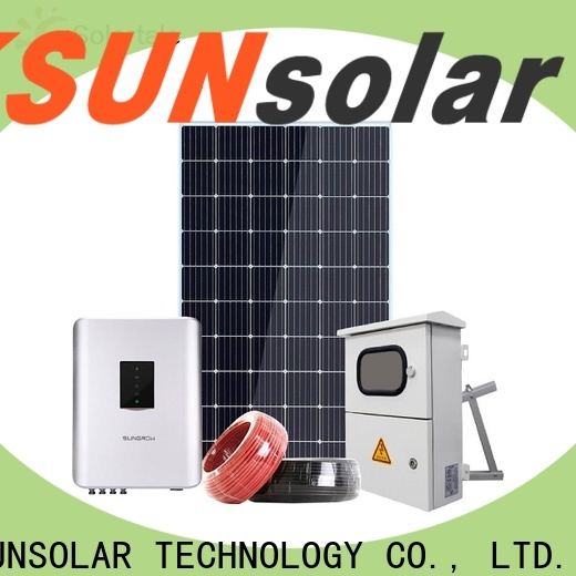 Best off grid solar systems manufacturers for business for powered by
