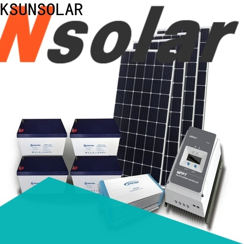 KSUNSOLAR solar panels off grid power systems manufacturers for powered by