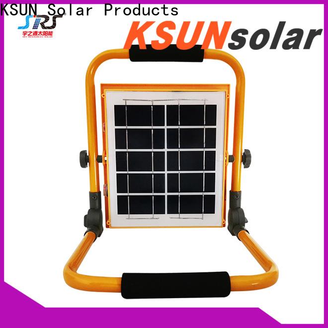 KSUNSOLAR solar powered outdoor flood lights company for Environmental protection
