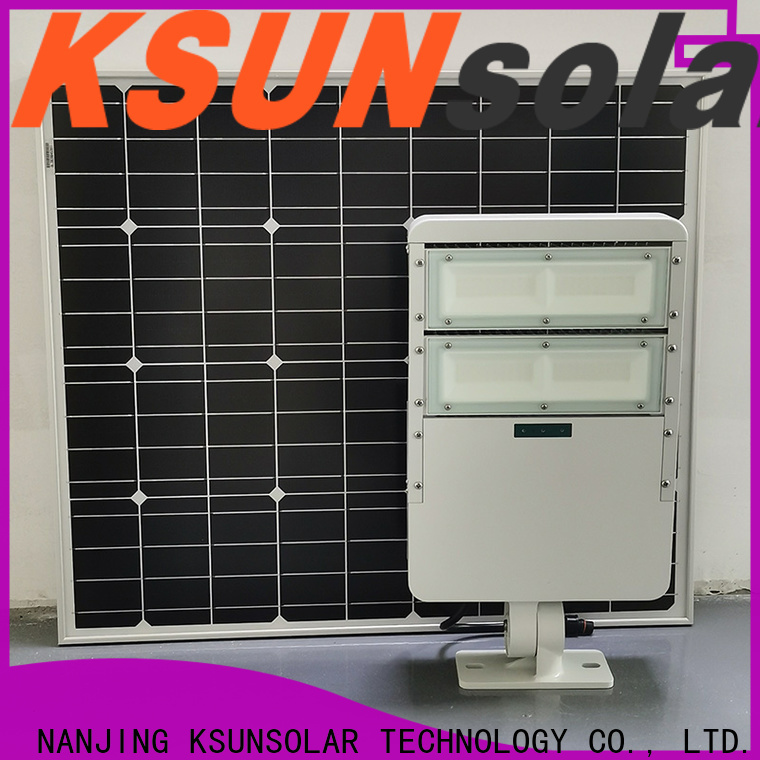 KSUNSOLAR Best best outdoor solar flood lights factory for Environmental protection