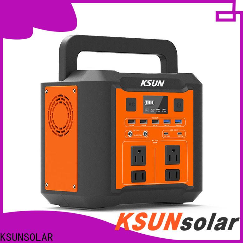 KSUNSOLAR New portable power station with solar company for Power generation