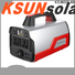 KSUNSOLAR Custom rechargeable portable power supply for powered by