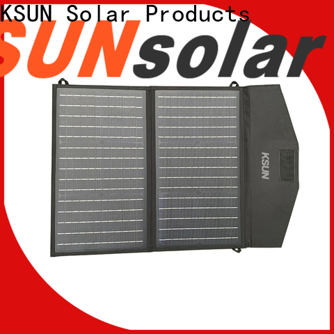 KSUNSOLAR Top best foldable solar panel company for Power generation
