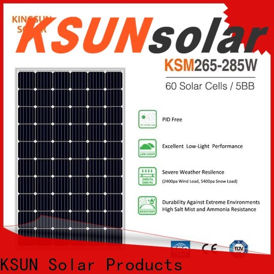 KSUNSOLAR Best home solar panel systems manufacturers for Power generation