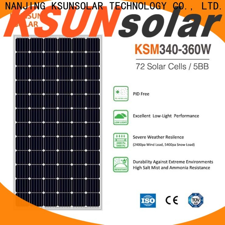 KSUNSOLAR Latest photovoltaic panel company for powered by