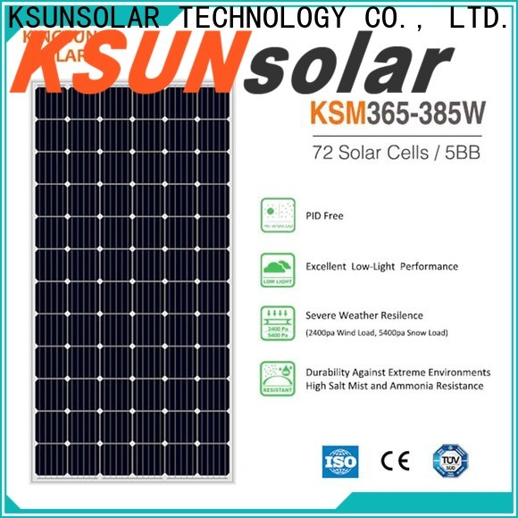 KSUNSOLAR solar module for business for Power generation