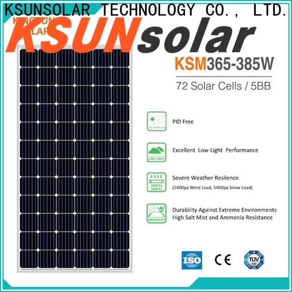 KSUNSOLAR solar module for business for Power generation