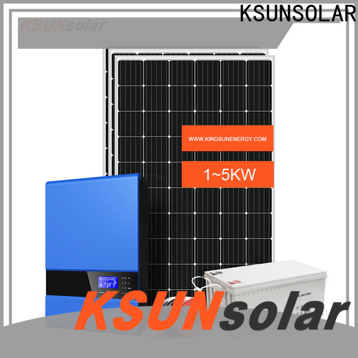 Top off grid solar panel system factory for powered by