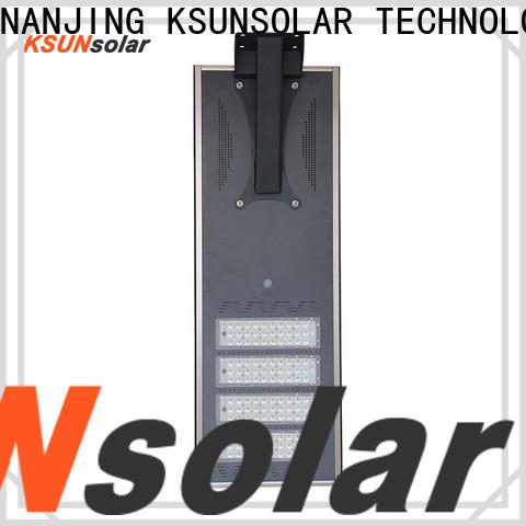 KSUNSOLAR Best solar street light benefits company for Environmental protection