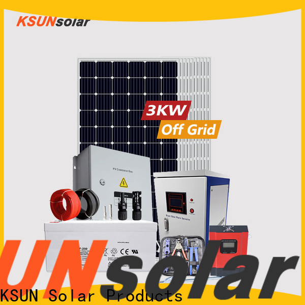 Top off grid solar system suppliers for powered by