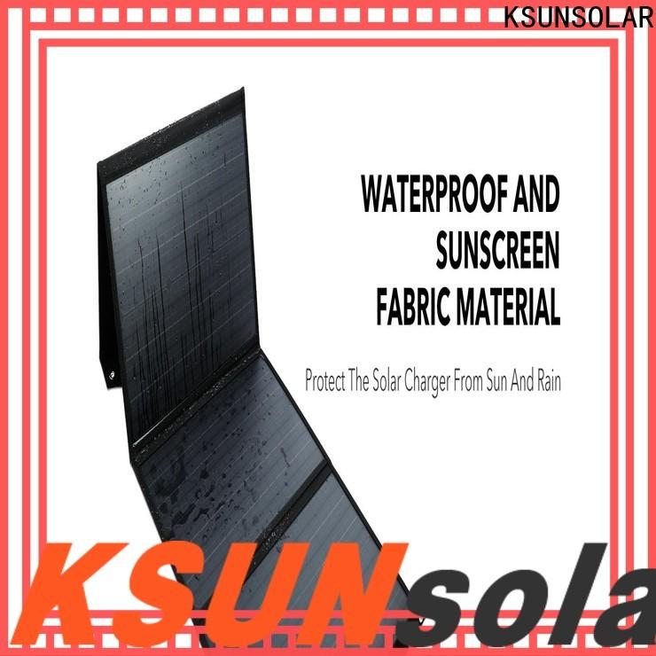 KSUNSOLAR Wholesale portable fold up solar panels Supply For photovoltaic power generation