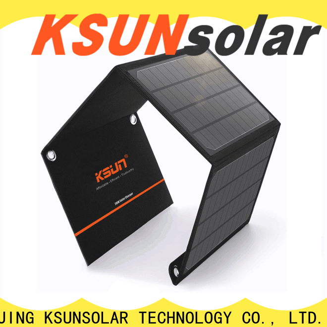 KSUNSOLAR portable foldable solar panels Suppliers for Environmental protection