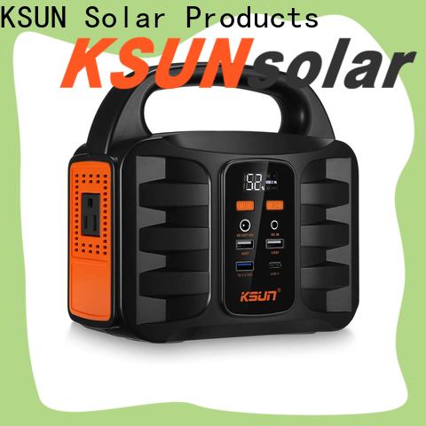 KSUNSOLAR Wholesale portable solar power generator for business for Environmental protection