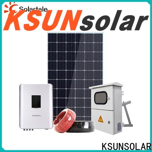KSUNSOLAR Wholesale grid-tied solar power system for Energy saving