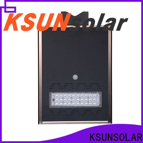 KSUNSOLAR solar powered street lights price Supply For photovoltaic power generation