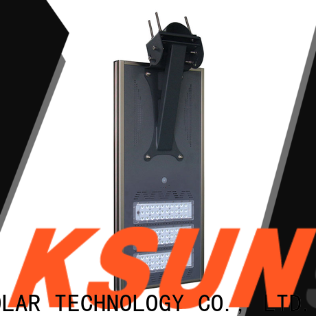 Best solar powered street lamps for business For photovoltaic power generation