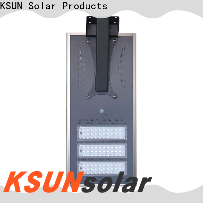 KSUNSOLAR high power solar street light factory for powered by